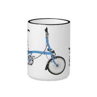 Bicicleta de Brompton Taza De Dos Colores