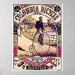 Bicicleta de Columbia Poster