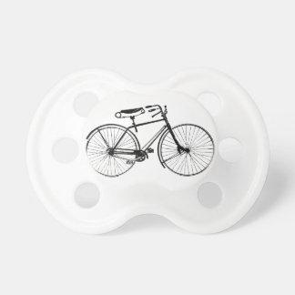 Bicicleta de encargo del vintage del fondo el | de chupetes