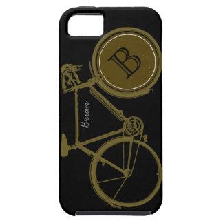 bicicleta de encargo para los motoristas frescos iPhone 5 funda