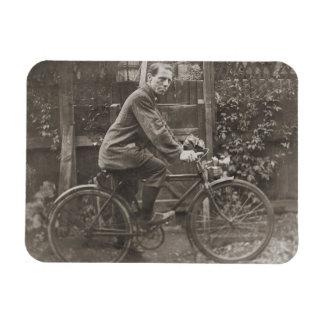 Bicicleta de Jack Fitzgerald Imán Foto Rectangular