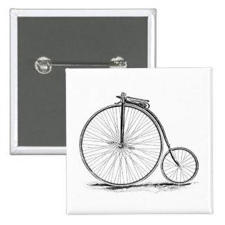 Bicicleta de la Alto-Rueda del vintage del comino Pin Cuadrado
