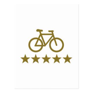 Bicicleta de la bici postales