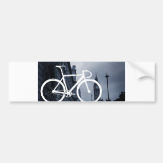 Bicicleta de la pista de Londres Pegatina Para Auto