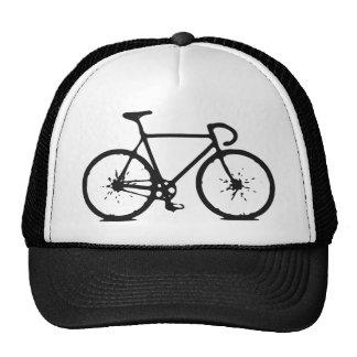 bicicleta de la pista gorras de camionero