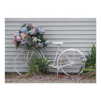 """Bicicleta de la playa invitación 5"""" x 7"""""""
