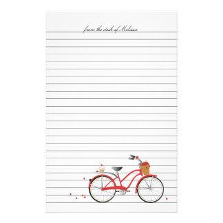 Bicicleta de las cerezas papeleria