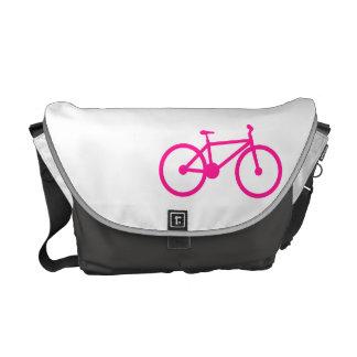 Bicicleta de las rosas fuertes; bici bolsas de mensajería