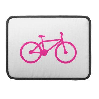 Bicicleta de las rosas fuertes; bici funda para macbook pro