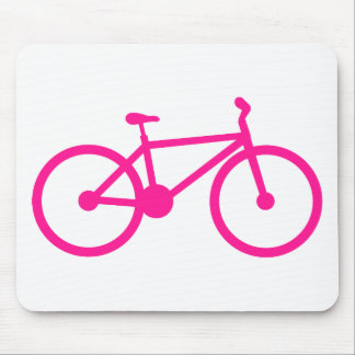 Bicicleta de las rosas fuertes; bici alfombrillas de ratones