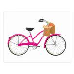Bicicleta de las rosas fuertes con los naranjas postales