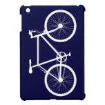 Bicicleta de los azules marinos y del blanco iPad mini cobertura
