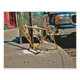 Bicicleta de SOHO NYC Fotografía