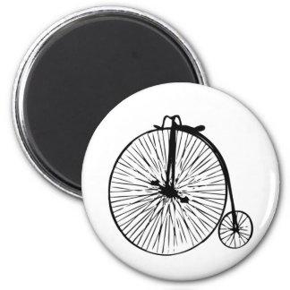 Bicicleta del comino del penique imán redondo 5 cm