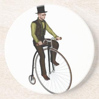 Bicicleta del comino del penique posavasos cerveza