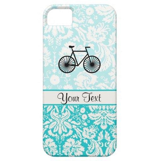 Bicicleta del modelo del damasco; Trullo iPhone 5 Case-Mate Protector