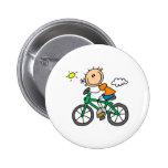 Bicicleta del montar a caballo del muchacho del pa pins