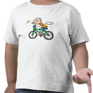 Bicicleta del montar a caballo - varón camisetas