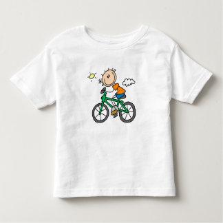 Bicicleta del montar a caballo - varón playera de bebé