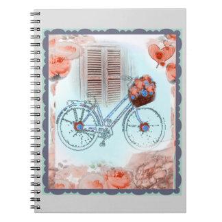 Bicicleta del país, moda lamentable, cuaderno