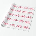 Bicicleta del rojo del escarlata