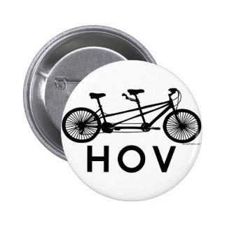 Bicicleta del tándem de HOV Pin Redondo De 2 Pulgadas