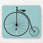 Bicicleta del vintage alfombrilla de ratón