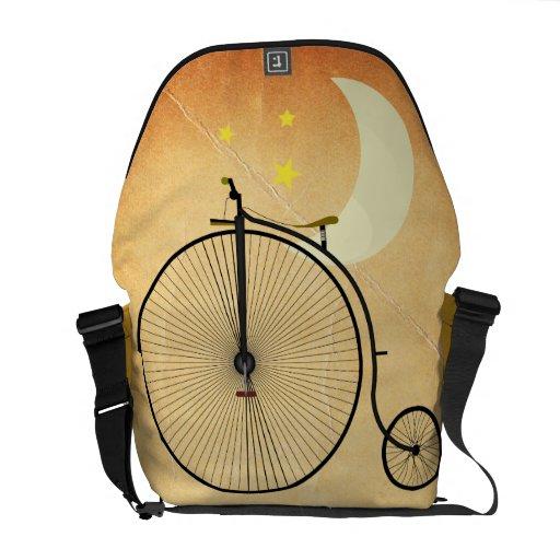 Bicicleta del vintage bolsas messenger