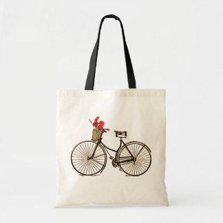 Bicicleta del vintage bolsa de mano