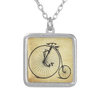 Bicicleta del vintage collares personalizados