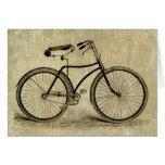 Bicicleta del vintage felicitaciones