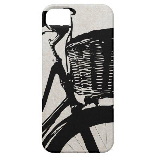 Bicicleta del vintage iPhone 5 Case-Mate coberturas