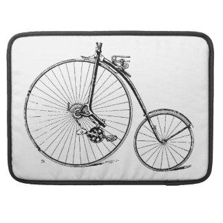 Bicicleta del vintage funda para macbook pro