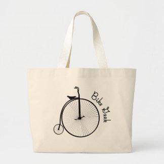 Bicicleta del vintage - la bolsa de asas de la