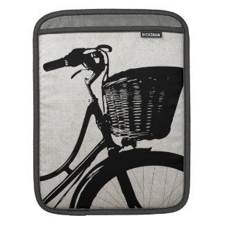 Bicicleta del vintage mangas de iPad