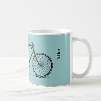 ¡Bicicleta del vintage - personalícela! Taza De Café