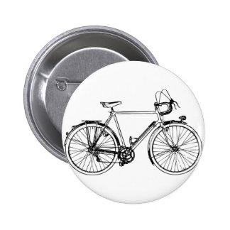 Bicicleta del vintage pin