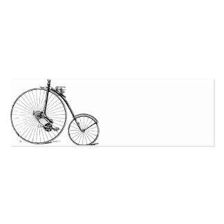 Bicicleta del vintage plantillas de tarjetas personales