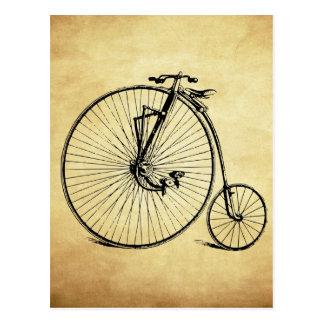 Bicicleta del vintage tarjetas postales