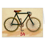 Bicicleta del vintage tarjetas