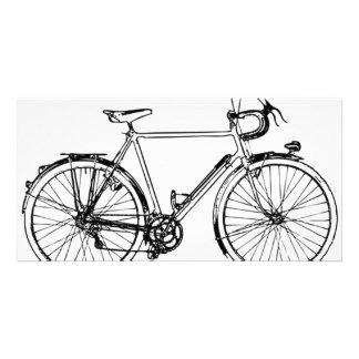 Bicicleta del vintage tarjetas personales