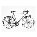 Bicicleta del vintage tarjetas publicitarias