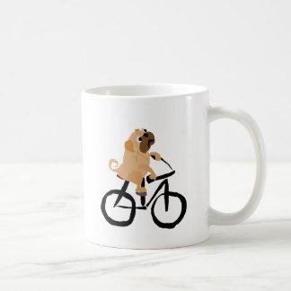 Bicicleta divertida del montar a caballo del perro taza clásica