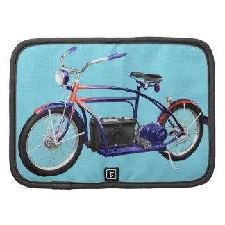 Bicicleta eléctrica temprana planificadores