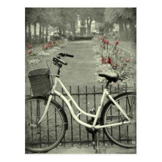 Bicicleta en Copenhague Postales