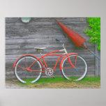 Bicicleta en Leland Poster