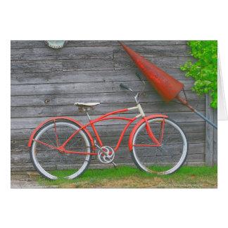 Bicicleta en Leland Tarjeta De Felicitación