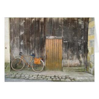 Bicicleta en Levroux Tarjeta De Felicitación