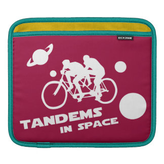 Bicicleta en tándem en el espacio exterior Zany Du Manga De iPad