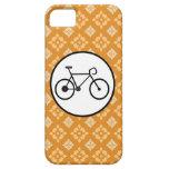 Bicicleta fija del engranaje de la bici de Fixie e iPhone 5 Coberturas